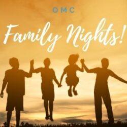 THIS FRIDAY – Family Night!