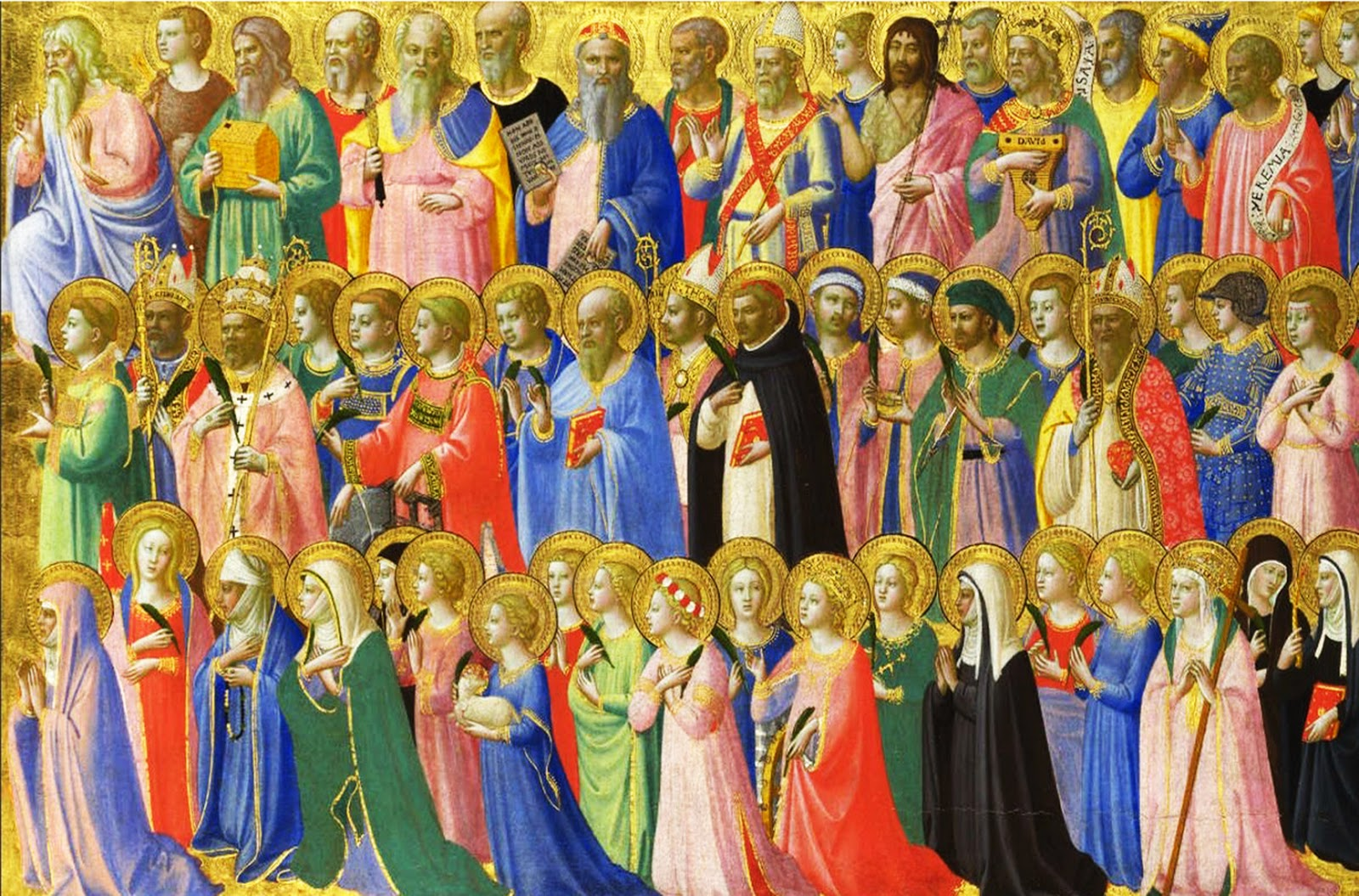 All Saints' Day Masses - Holy Day of Obligation