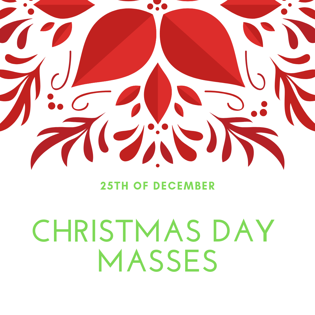 Christmas Day Mass Times