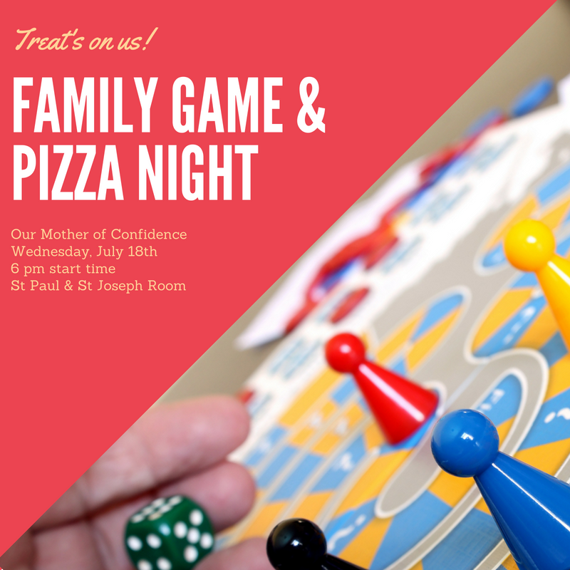 Family Game & Pizza Night