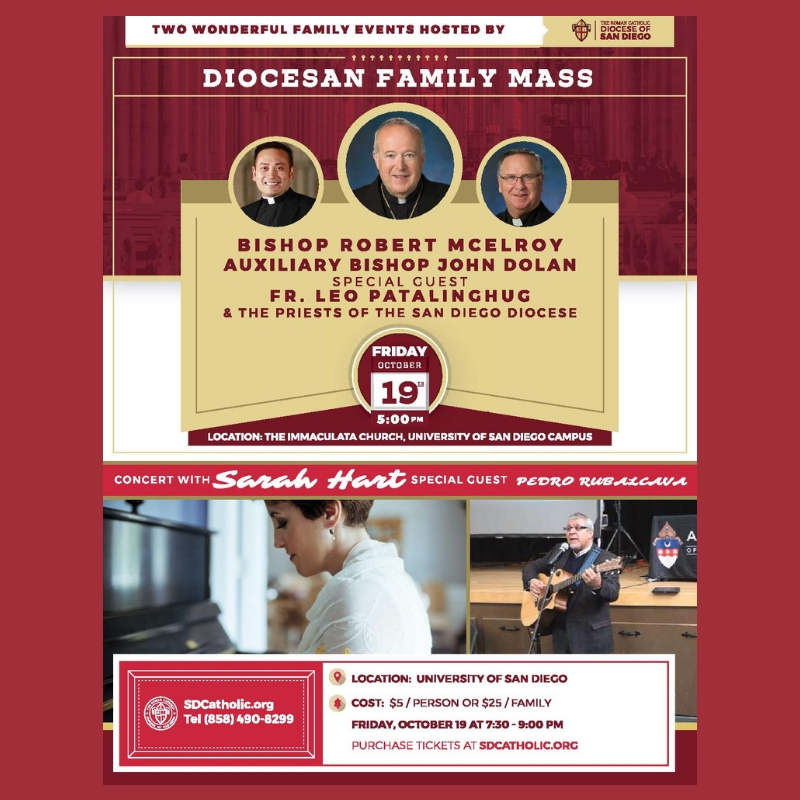 Diocesan Family Mass and Concert