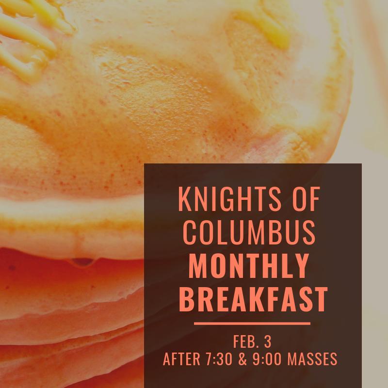 Knights of Columbus Breakfast Buffet