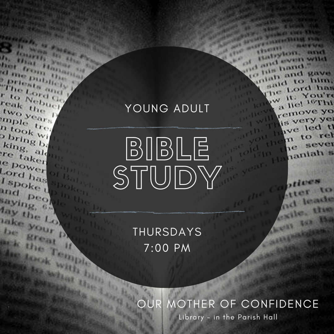 YOUNG ADULTS - Bible Study