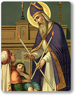 The Feast of St. Blaise/Blessing of the Throats