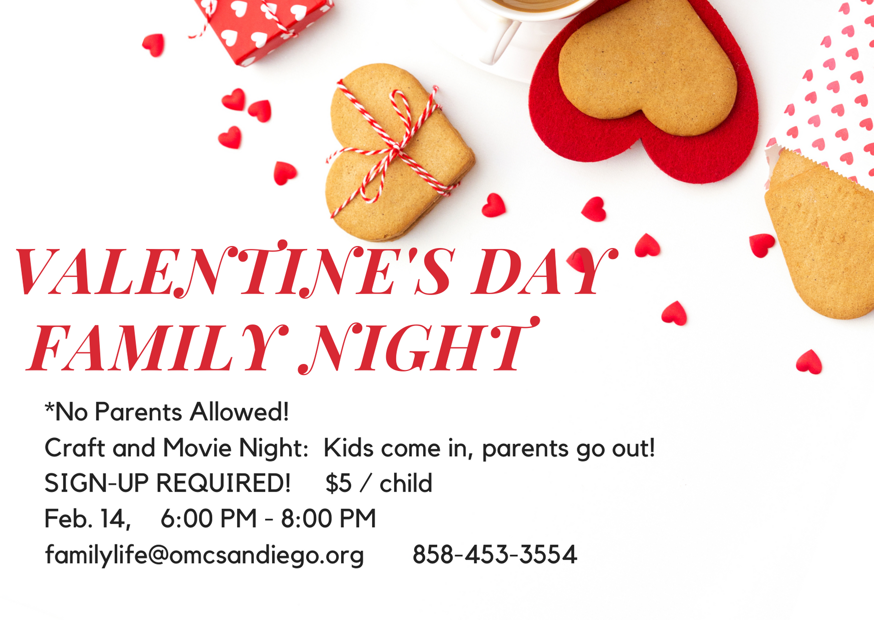 Valentine's Day FAMILY NIGHT