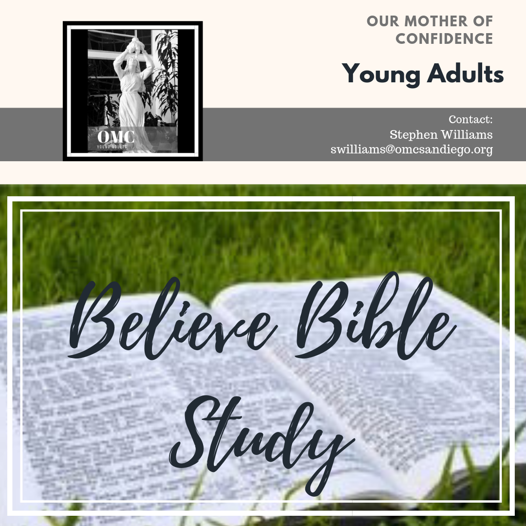 YOUNG ADULTS - Summer Bible Study