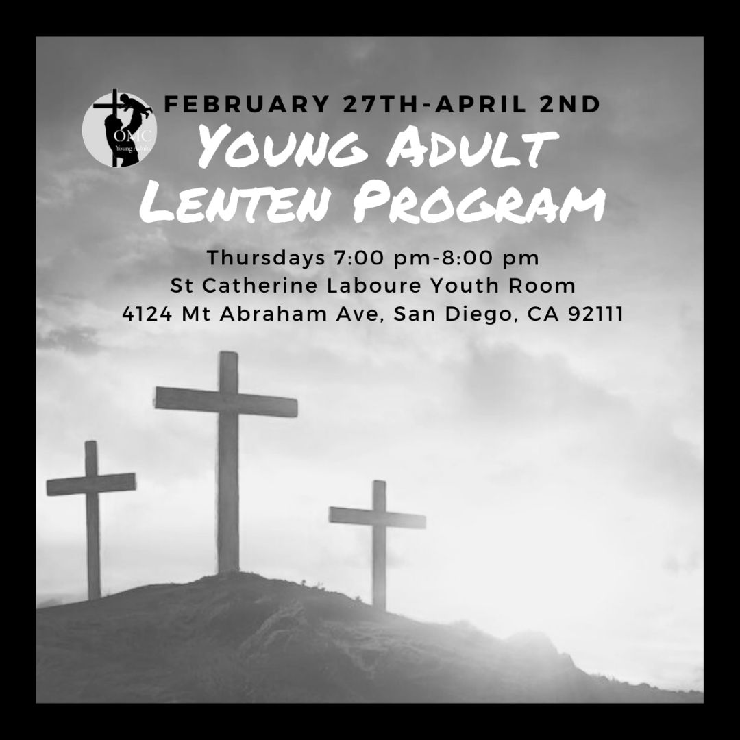 YOUNG ADULT Lenten Study