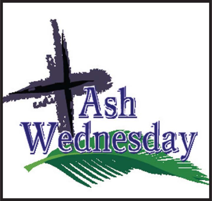 Ash Wednesday Masses Click on Photo