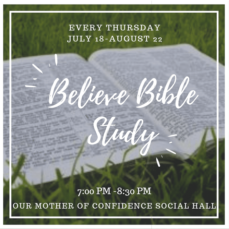 YOUNG ADULT - Summer Bible Study