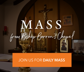 Join Bishop Barron for DAILY MASS