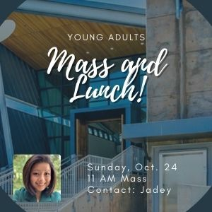 Young Adults - Mass and Lunch