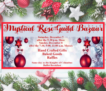 Christmas Bazaar – Dec. 7&8!