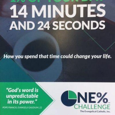 Take the 1% Prayer Challenge!