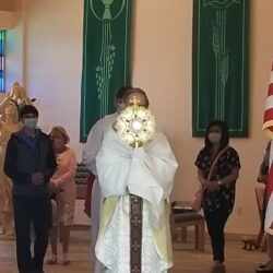Solemnity of the Most Holy Body and Blood of Christ Procession