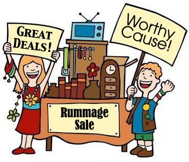 Image result for catholic rummage sale